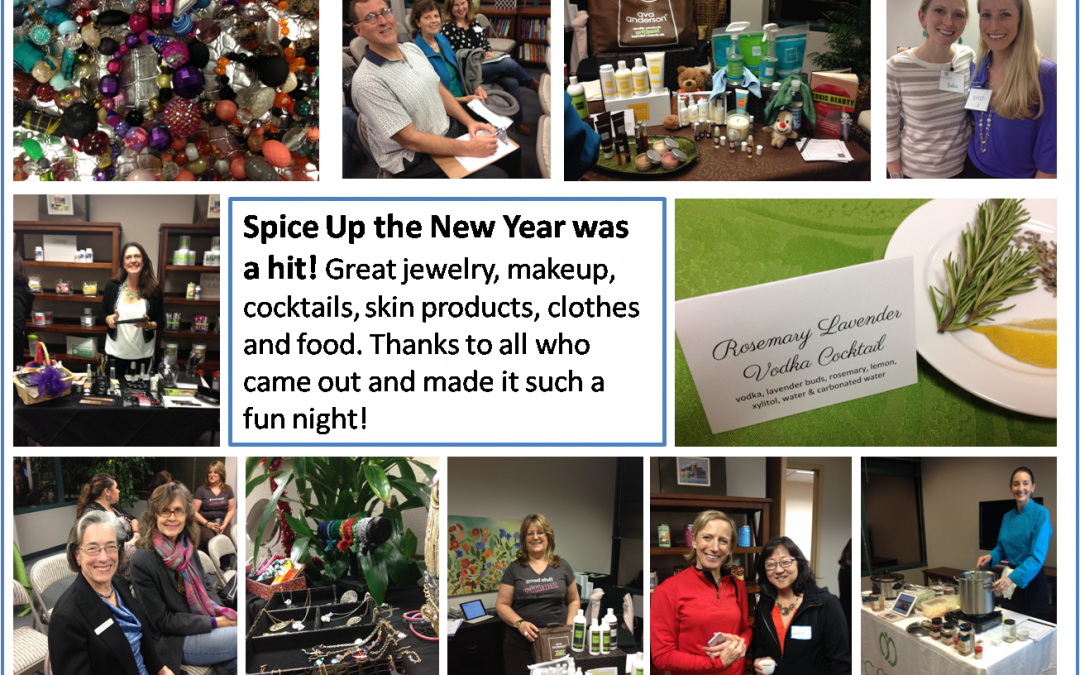 Photos From Our Event: Spice Up the New Year!