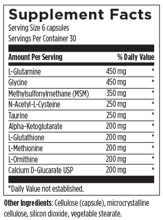 Amino-D-Tox 180 Designs for Health Ingredients