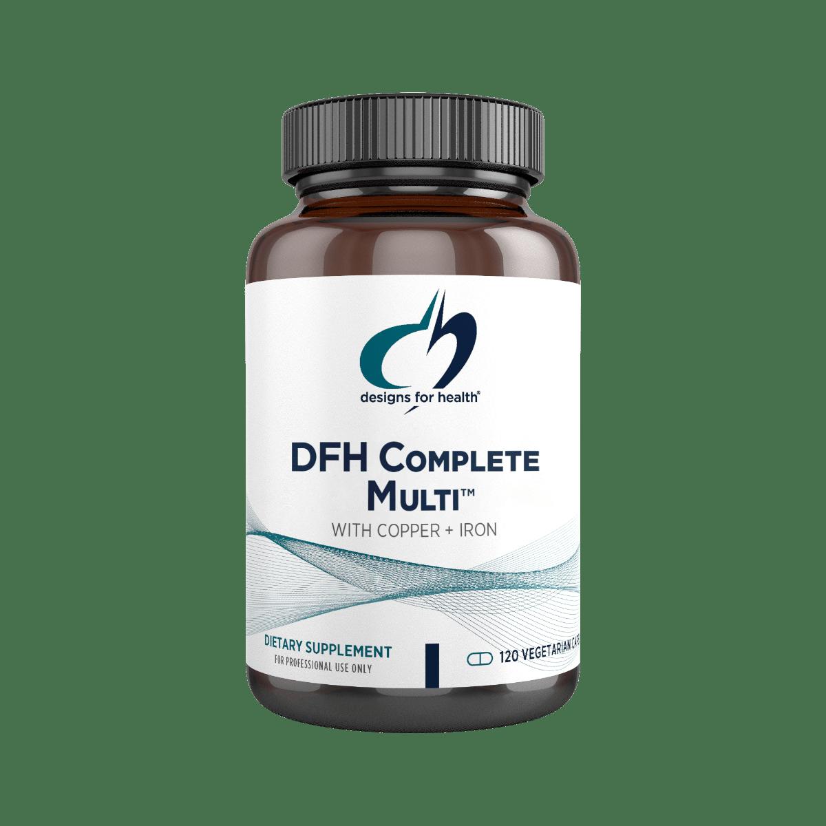 DFH Complete Multi (with Copper + Iron) 120 Designs for Health