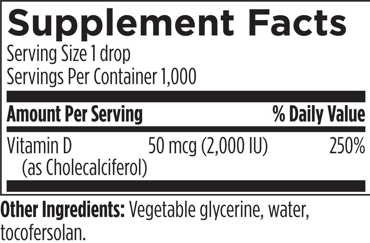 Hi-Po Emulsi-D3 1 fl oz (30 mL) Designs for Health Ingredients