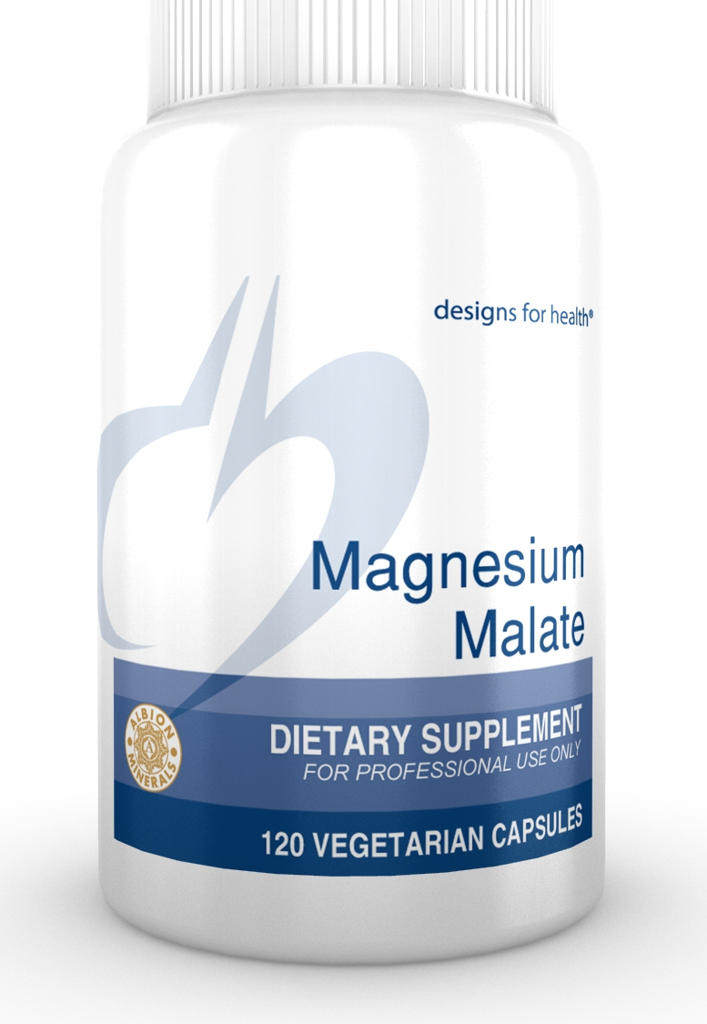 Magnesium Malate 120 Designs for Health