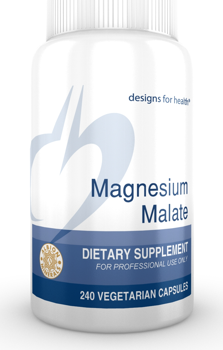 Magnesium Malate 240 Designs for Health