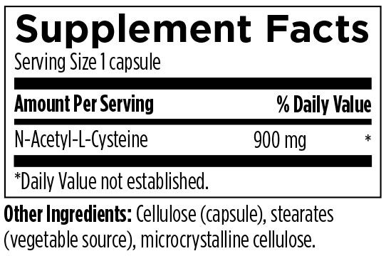 N-Acetyl-Cysteine 120 Designs for Health Ingredients