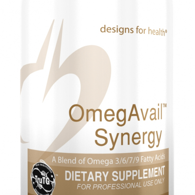 OmegAvail Synergy 180 Designs for Health