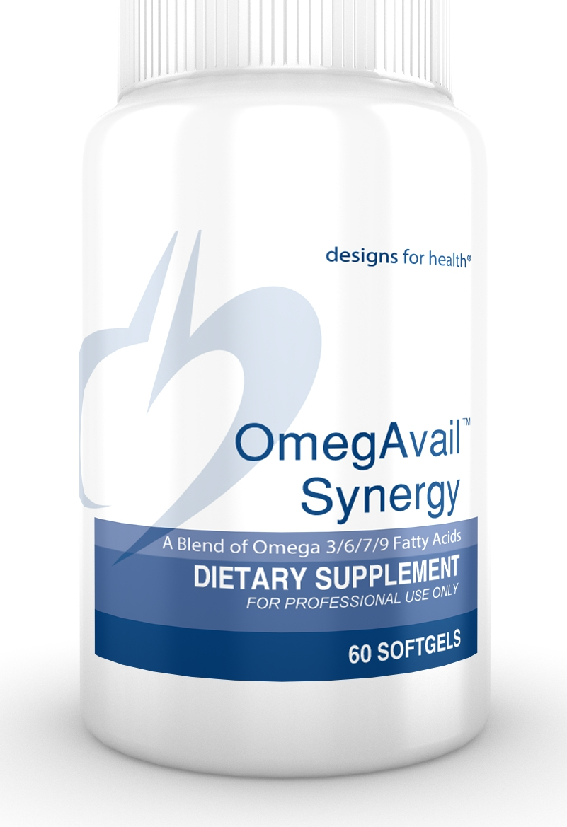 OmegAvail Synergy 60 Designs for Health