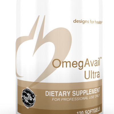 OmegAvail Ultra 120 Designs for Health