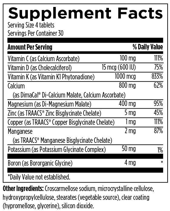 OsteoForce 120 Designs for Health Ingredients