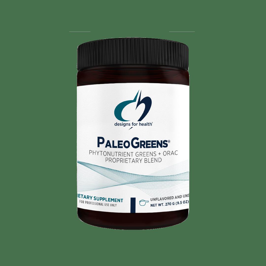 PaleoGreens Unflavored 270 g (9.5 oz) Designs for Health