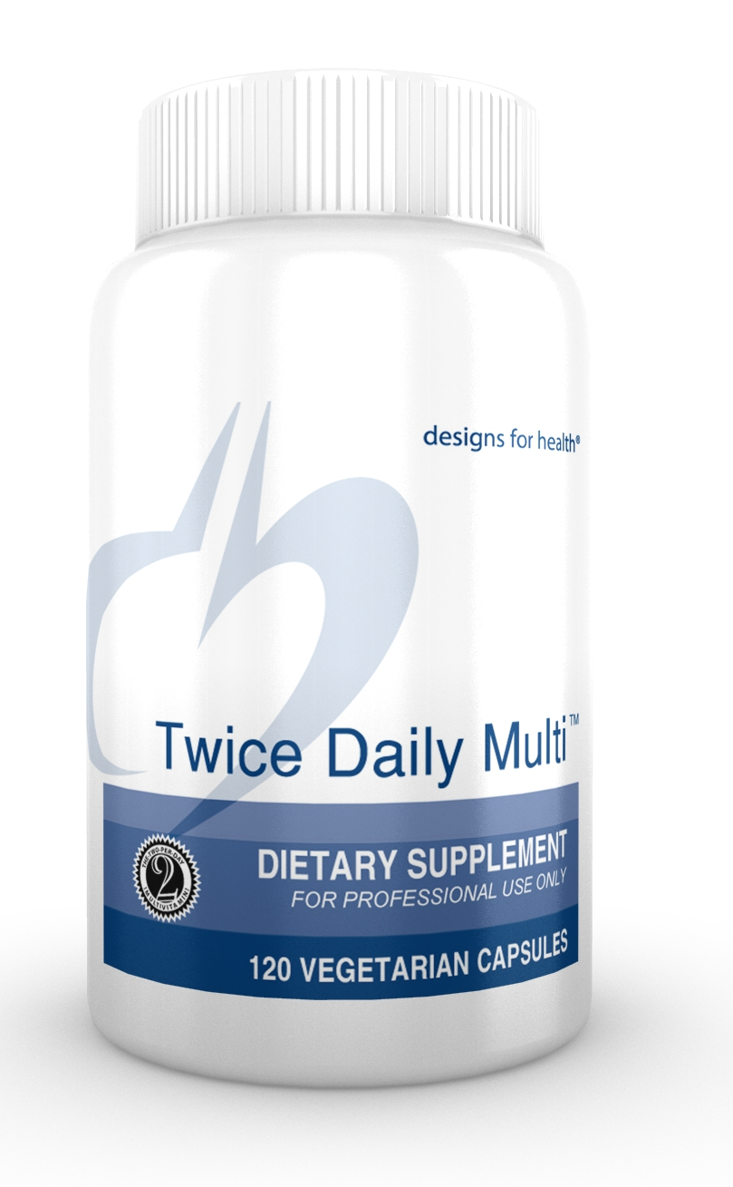 Twice Daily Multi 120 Designs for Health