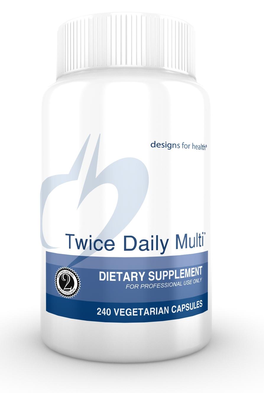 Twice Daily Multi 240 Designs for Health