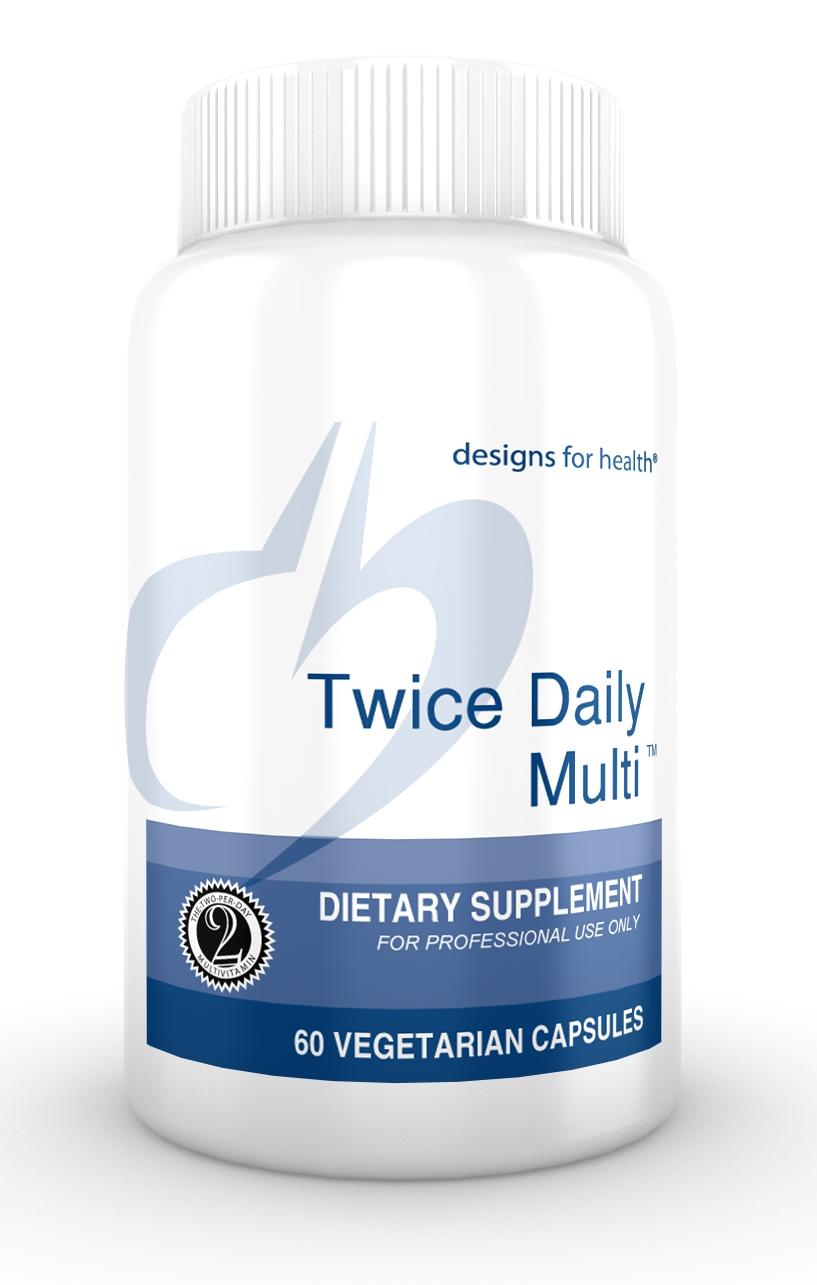 Twice Daily Multi 60 Designs for Health