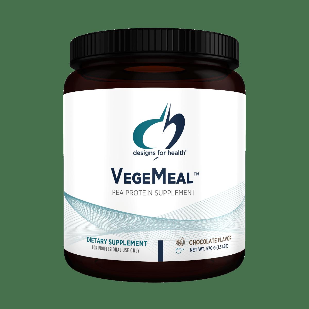 VegeMeal Chocolate 570 g (1.3 lbs) Designs for Health