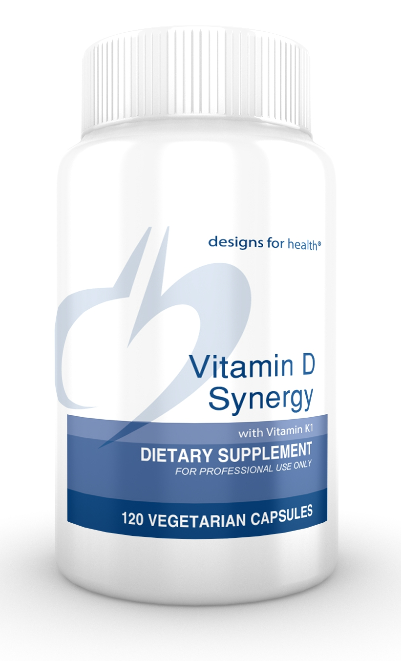 Vitamin D Synergy 120 Designs for Health