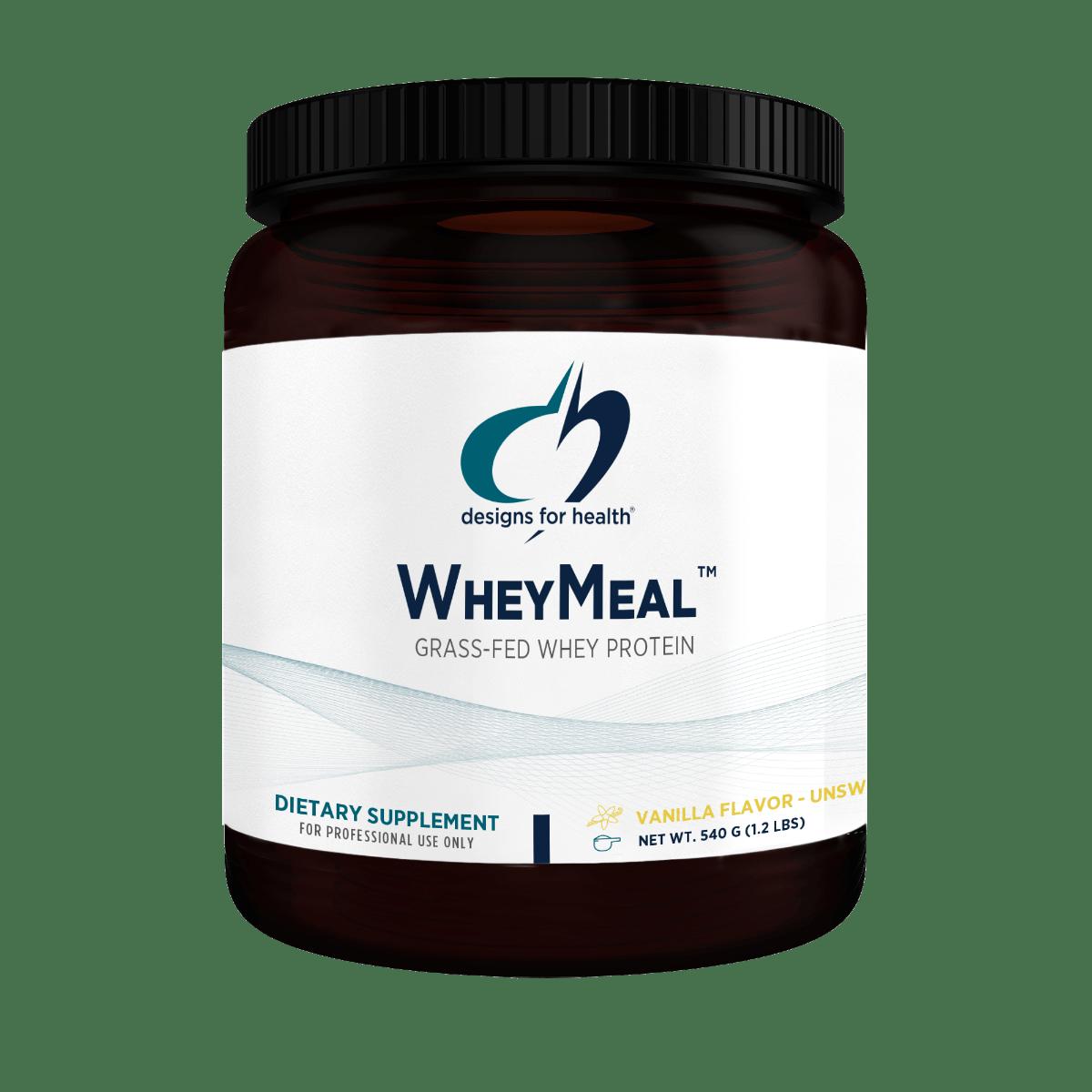 WheyMeal Vanilla 900 g (2 lbs) Designs for Health