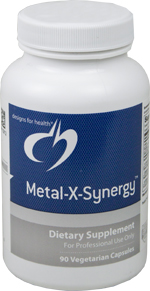 Metal-X-Synergy, 90 capsules per bottle