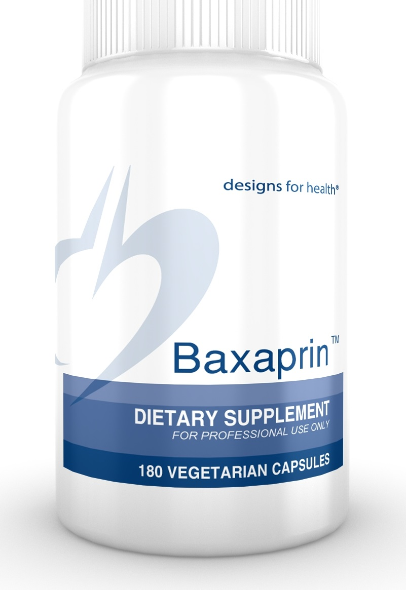 Baxaprin 180 capsules Designs for Health