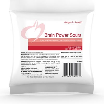 BrainPower Sours Raspberry case Designs for Health