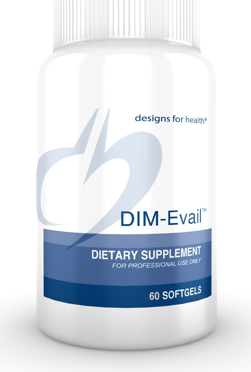 DIM Evail 60 softgels Designs for Health