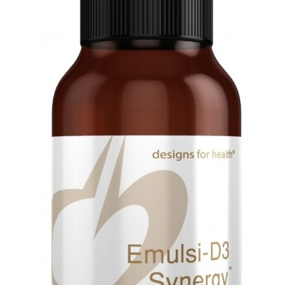 Emulsi D3 Synergy 2oz liquid Designs for Health