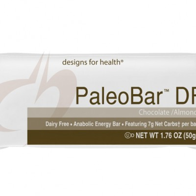 PaleoBar DF Chocolate Almond Case of 18 Designs for Health
