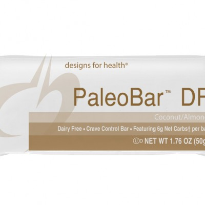 PaleoBar DF Coconut Almond Case of 18 Designs for Health
