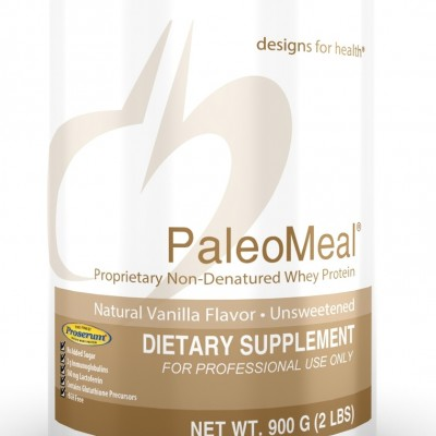 PaleoMeal Powder Vanilla 900 Designs for Health