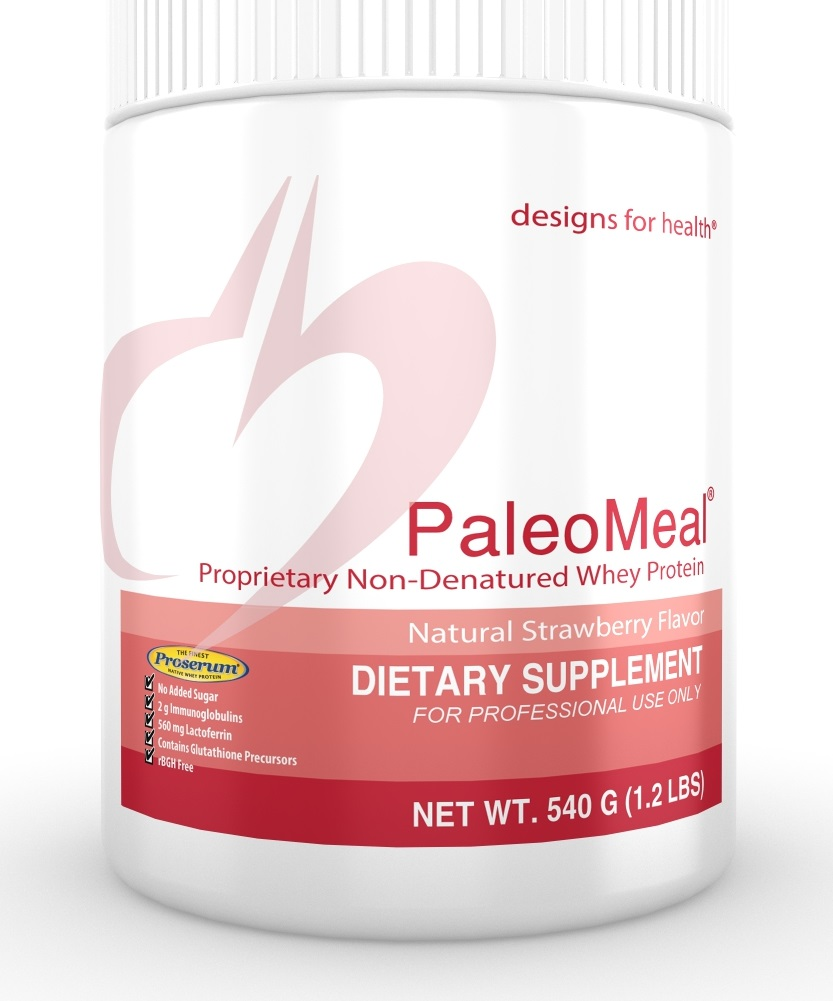 PaleoMeal Strawberry 540g Designs for Health