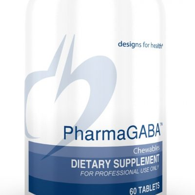 PharmaGABA 60 Chewables Designs for Health