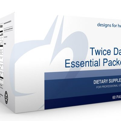 Twice Daily Essential Packets 60 Designs for Health