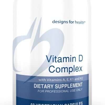 Vitamin D Complex 60 Designs for Health