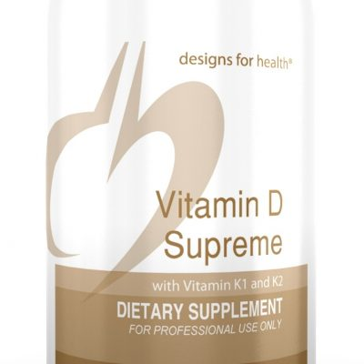 Vitamin D Supreme 180 Designs for Health