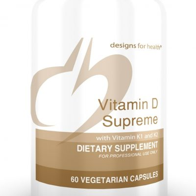 Vitamin D Supreme 60 Designs for Health