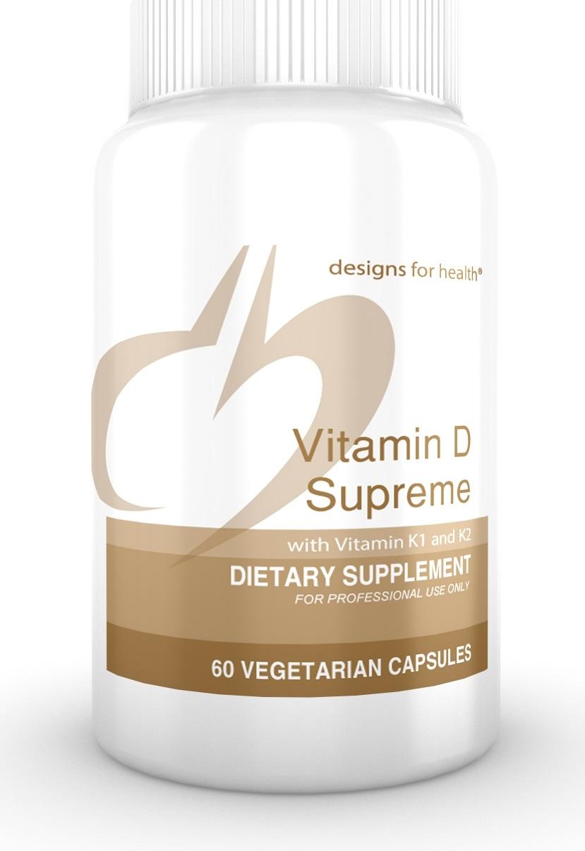 Vitamin D Supreme 60 Designs for Health