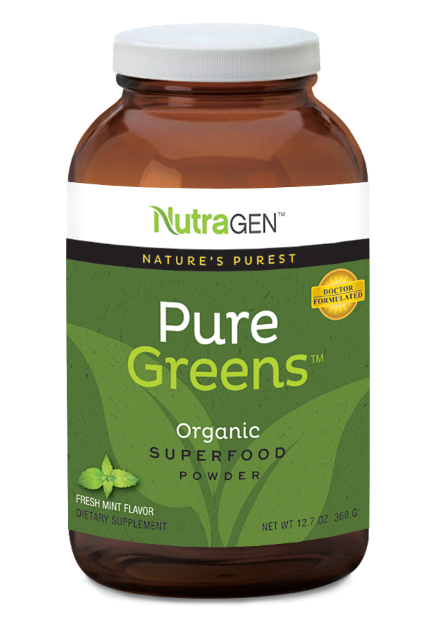 NutraGen PureGreens Fresh Mint