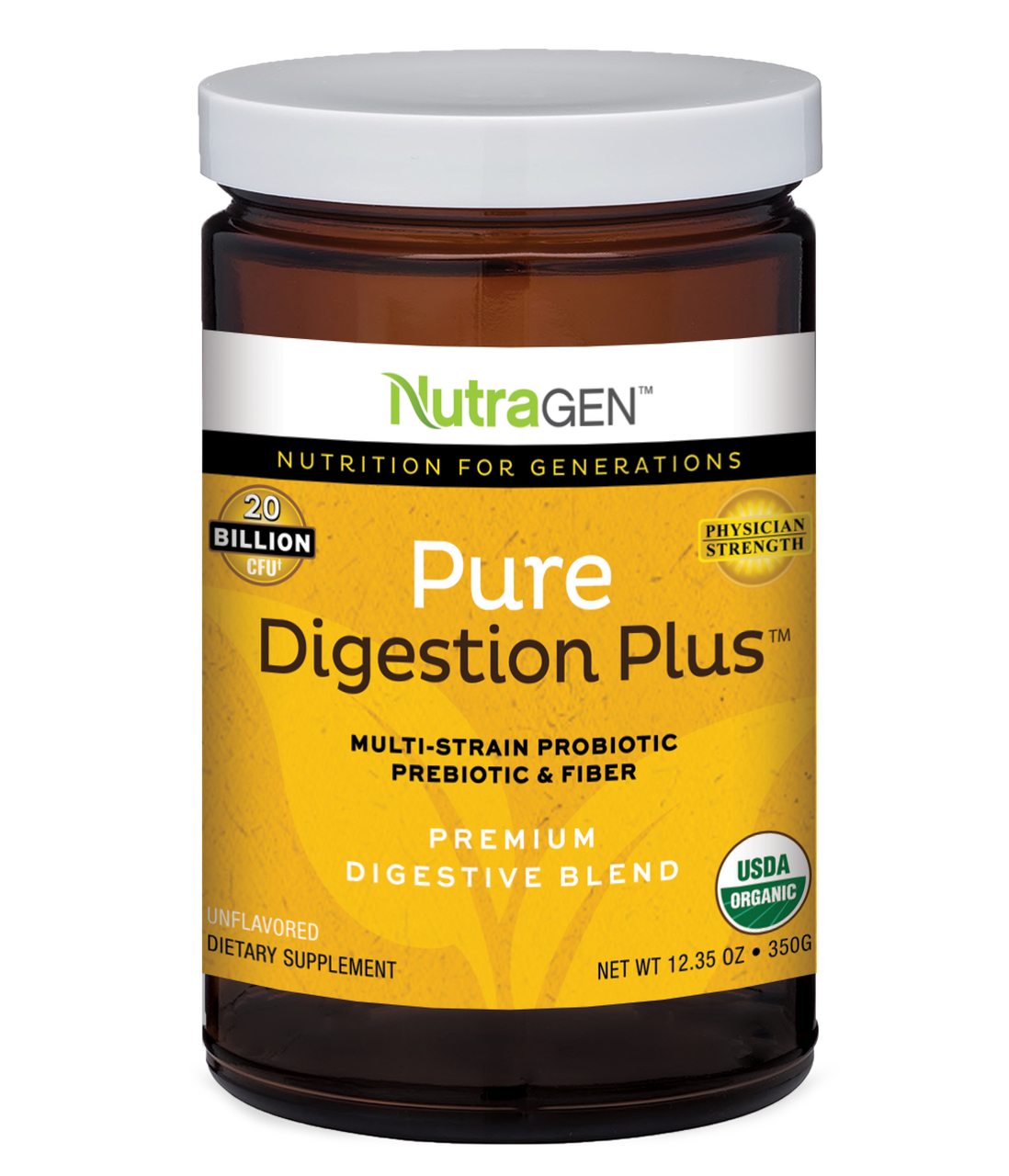 Nutragen Fiber Pure Digestion Plus, Nutragen Fiber, Digestion Plus, Gut Healing, IBS Fiber