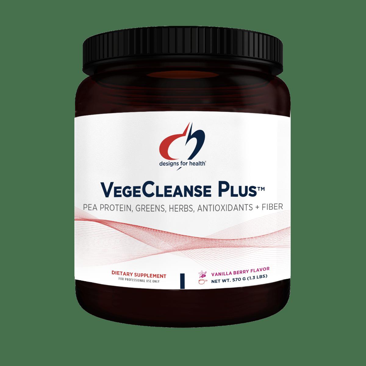 VegeCleanse Plus Powder 570 g (1.3 lbs) Designs for Health