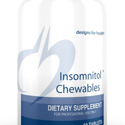 Insomnitol Chewable Designs for Health Natural Sleep Remedy
