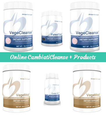 Essentials PaleoCleanse, PaleoMeal-DF, Paleofiber, PaleoGreens, for CambiatiCleanse