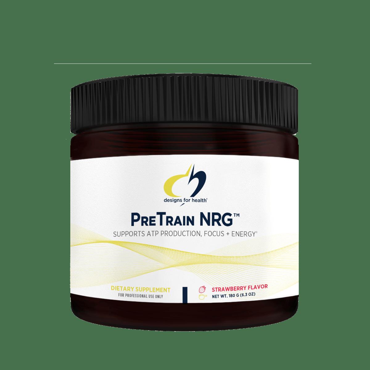 PreTrain NRG 180 g (6.3 oz) Designs for Health