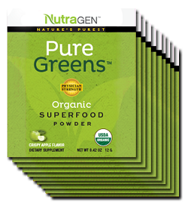 Nutragen Pure Greens Crispy Apple