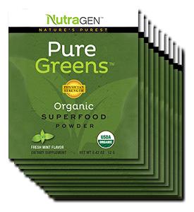 Nutragen Pure Greens Mint
