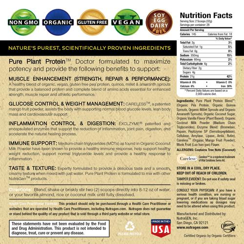 Nutragen Pure Plant Protein Ingredients