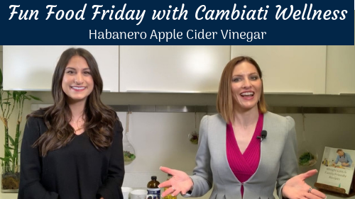 Fun Food Friday – Apple Cider Vinegar with Habanero, Ginger, & Tumeric