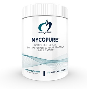 Fermented Mushroom Protein, Vegan, Designs For Health, Immune-Assist, Cordyceps