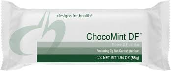 Chocomint, designs for health, protein bar,, vegetarian