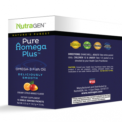 Nutragen Pure-Aomega-Travel Packets