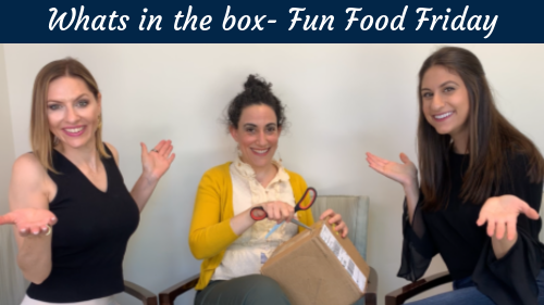 What's in the Box?? Fun Food Friday Edition