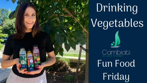 Drinking Vegetables! Fun Food Friday