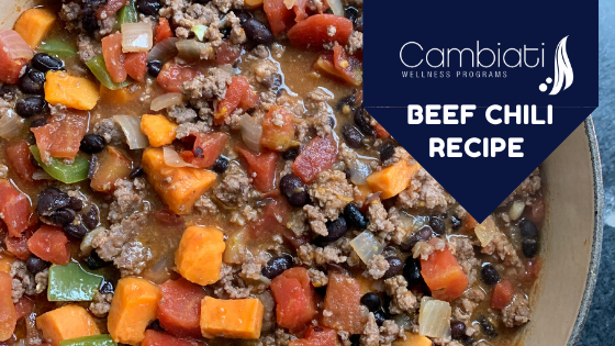 Beef and Vegetable Chili Recipe