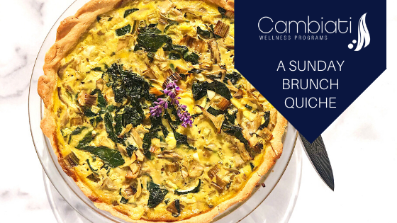 A Sunday Brunch Quiche